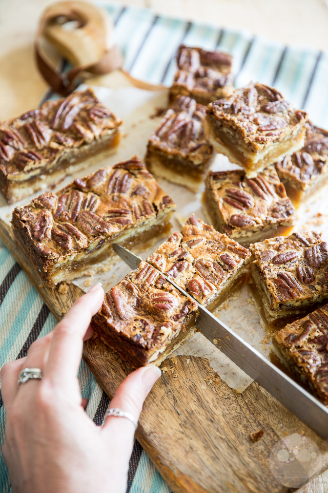 Pecan Pie Bars | eviltwin.kitchen