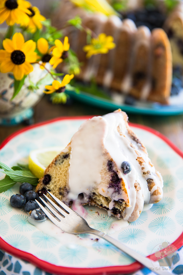 Simple yet incredibly elegant, this Blueberry Lemon Bundt Cake is wonderfully moist and tastes every bit as delicious as it looks!