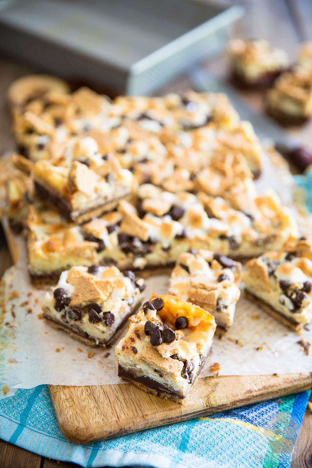 S'mores Cheesecake Bars by My Evil Twin's Kitchen | Step-by-step instructions on eviltwin.kitchen