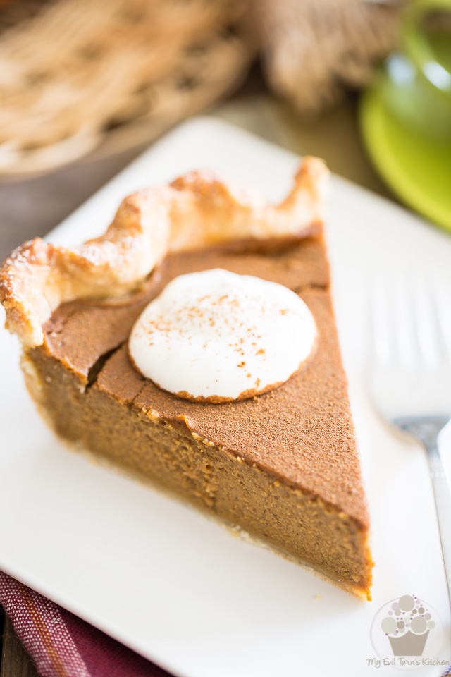 Think you're not a fan of Pumpkin Pie? This Spiced Pumpkin Pie may very well have you change your mind, or get you to love it even more if you already are.