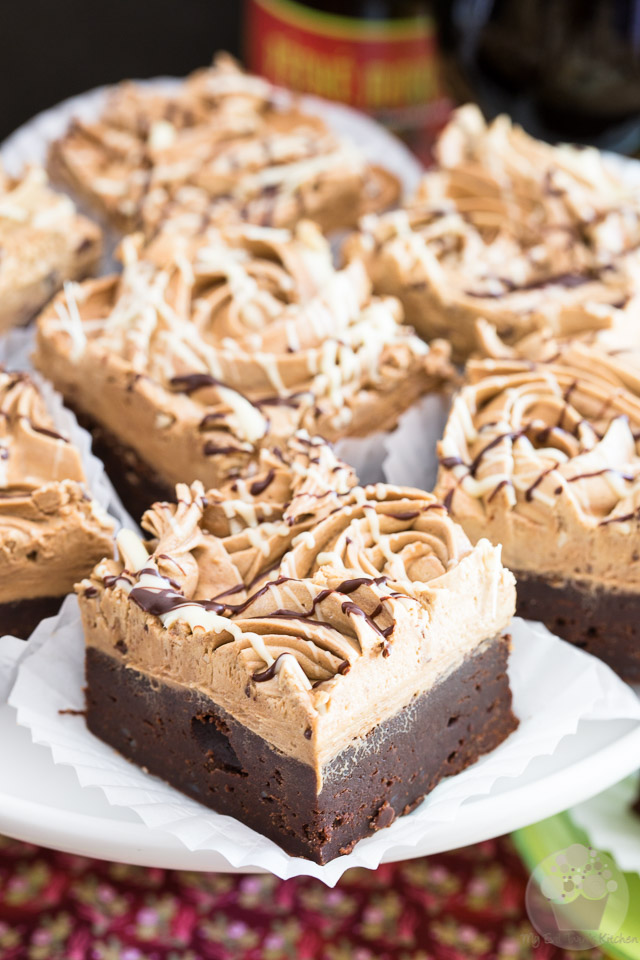 Stout Dark Chocolate Brownies by My Evil Twin's Kitchen   Recipe and step-by-step instructions with pictures on eviltwin.kitchen