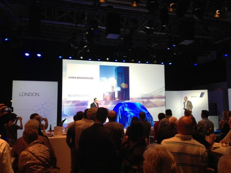 BMW i3 launch event