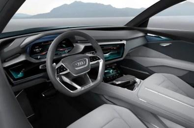 Audi E Tron Concept Interior