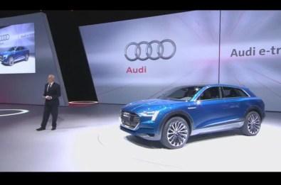 Audi E Tron Concept 2015 Show Frankfurt 15