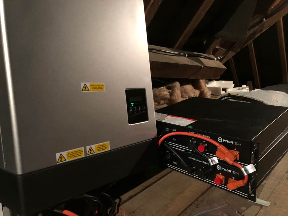 pylontech * two and inverter