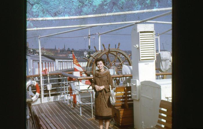 1965 Cruise on the North Sea