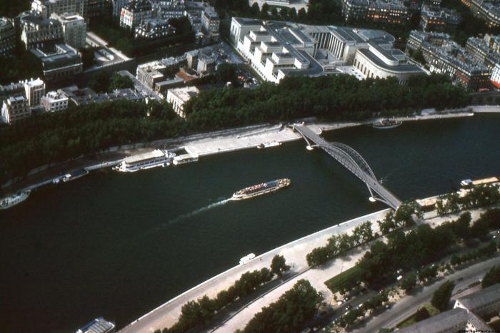 Tour Boat in the Seine