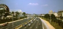 Freeway through World's Fair