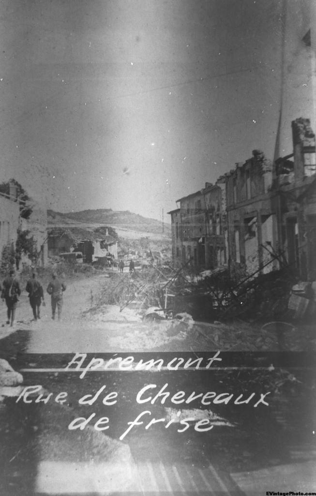 Apremont - Rue de Cheveaux de frise