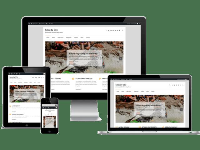 Premium WordPress Themes: Speedy Pro