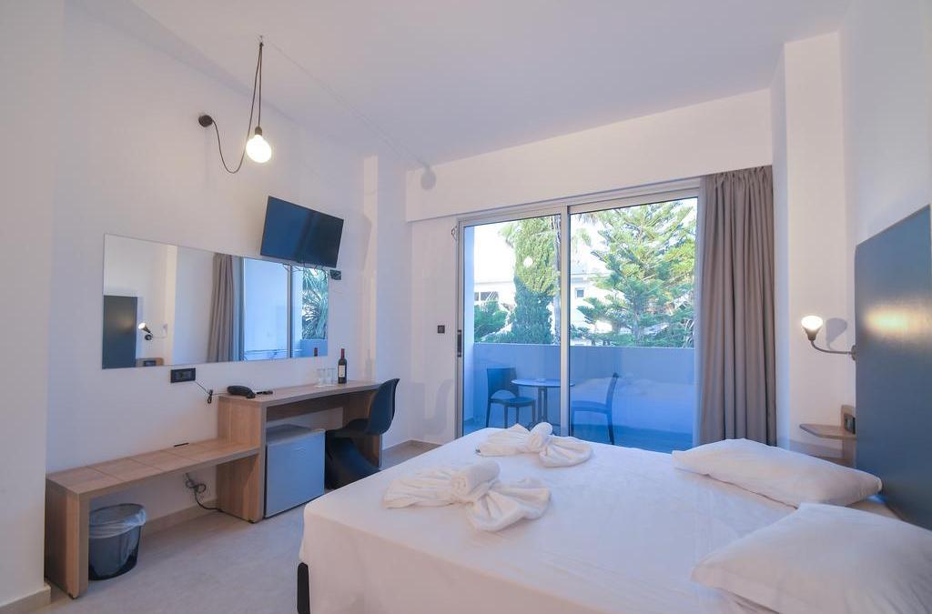 Evita Bay Hotel & Resorts Double Room View Faliraki Rhodes Greece