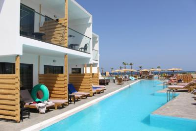 Evita Mare Resorts & Hotels Sharing Pool Rooms View Faliraki Rhodes Greece