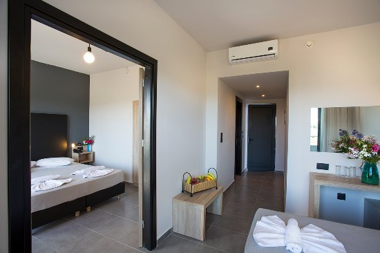 Evita Resort Hotel Family Room Faliraki Rhodes Greece