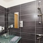 Evita Hotels & Resorts Indoor Bathroom Shower View Rhodes Greece