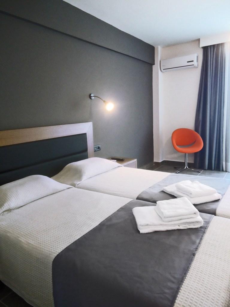 Evita Hotels & Resorts Twin Room Indoor View Faliraki Rhodes Greece