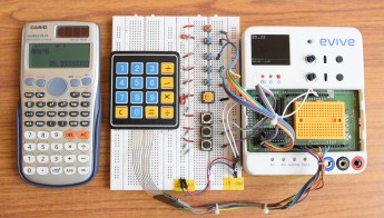Scientific Calculator with evive