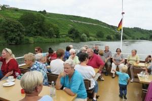 Fahrt mit dem Neckarbummler