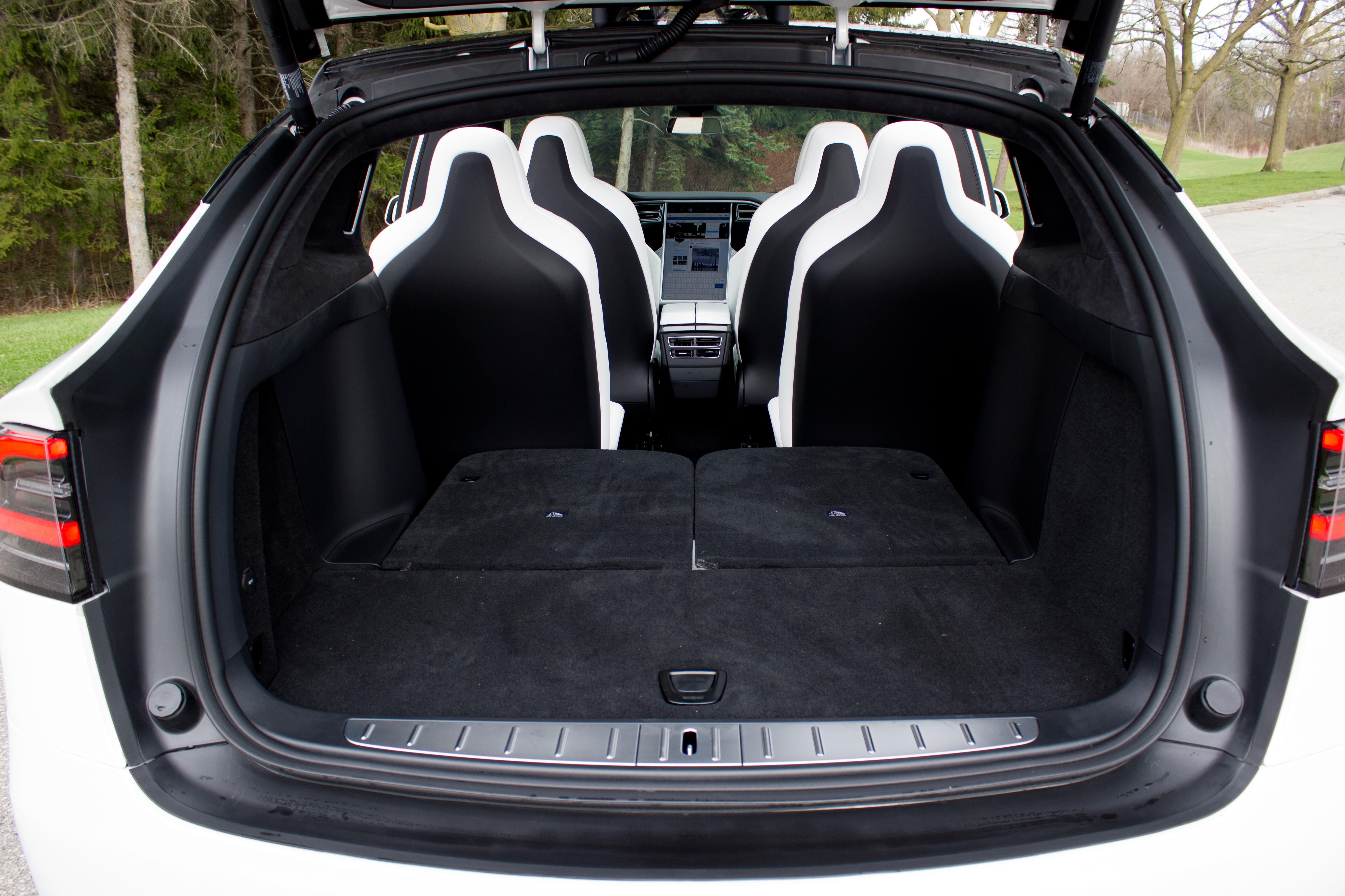 9. Tesla Model X interior