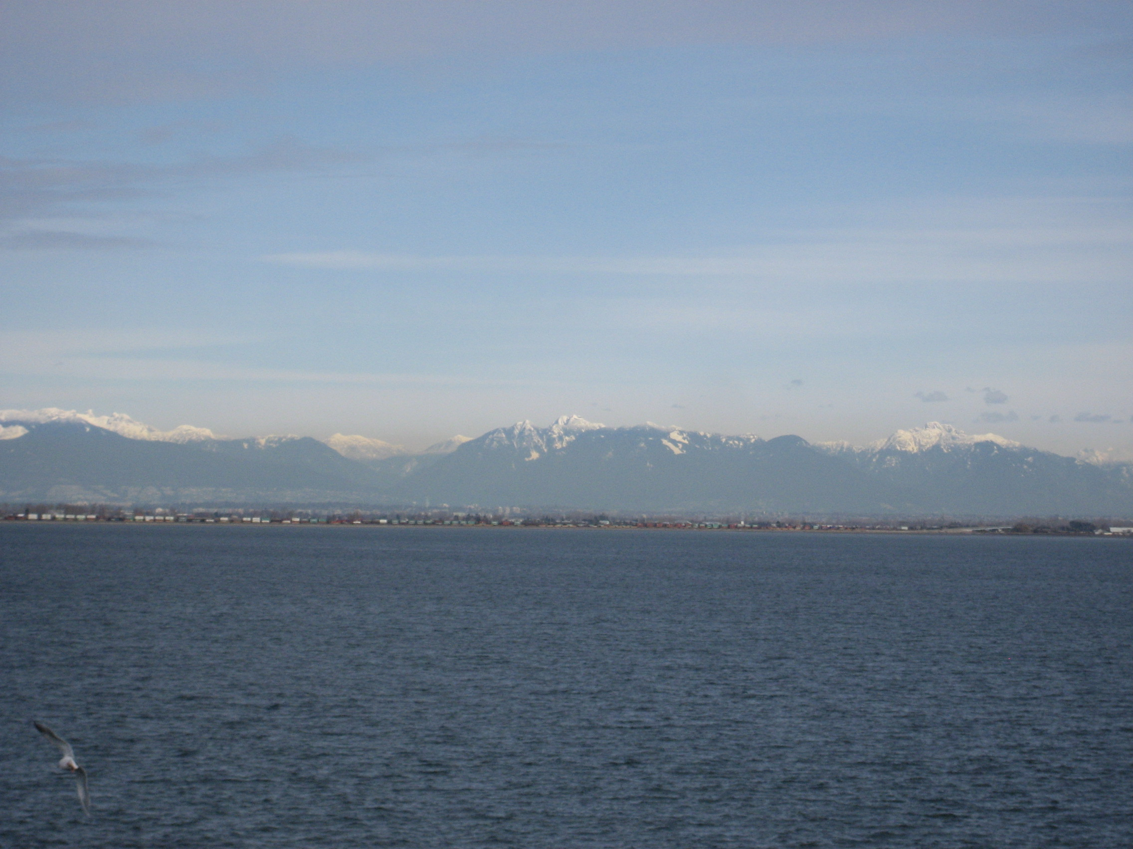 Pacific Ocean outside Vancouver