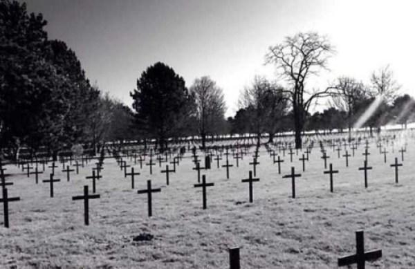 Фото призрака на Солдатском кладбище