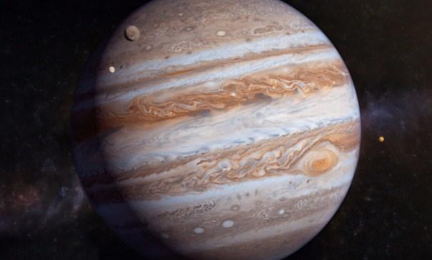 Ученые: Юпитер «выгнал» изСолнечной системы другого газового гиганта