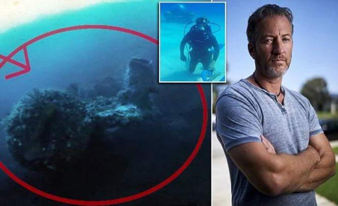 охотник за сокровищами обнаружил НЛО в Бермудском треугольник