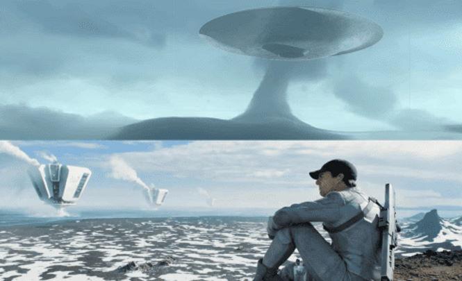 Инопланетяне выкачивают с Земли воду и кислород.