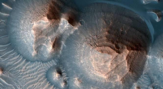 Наука подтверждает, что на Марсе произошли тысячи мощных сверхизвержений вулканов
