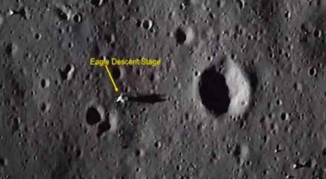 Следы присутствия астронавтов обнаружили на Луне