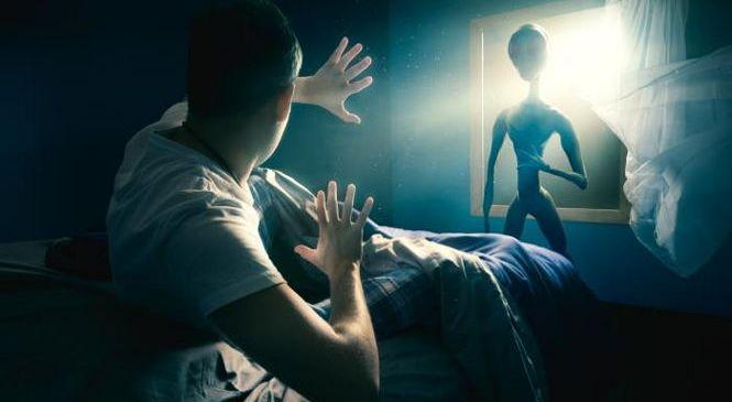Инопланетяне разговаривают телепатически