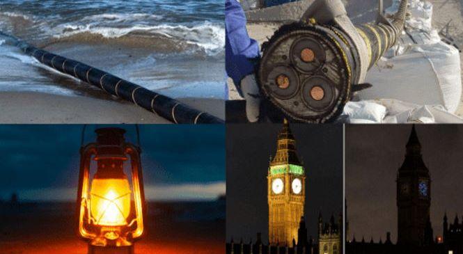Пророчество старца Геокона сбывается: в Британии пожар крупнейшего подводного кабеля.