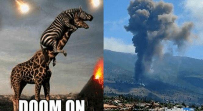 Извержение на Ла Пальма началось.