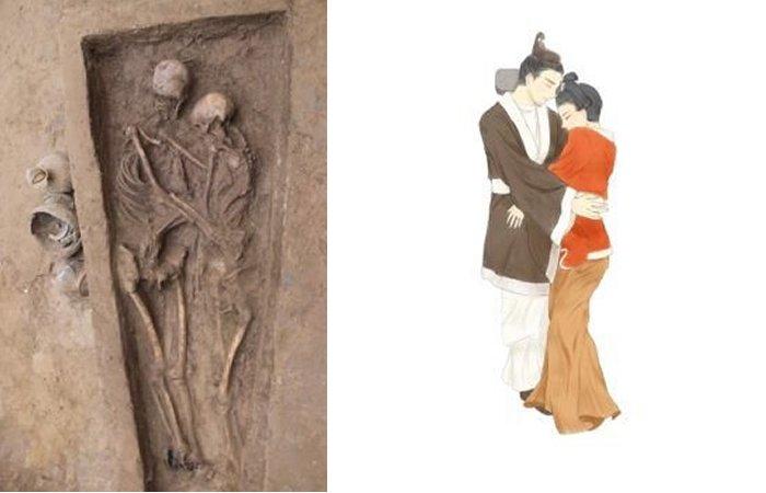 Совместное захоронение, которому 1500 лет, позволяет взглянуть на отношение к любви и загробной жизни