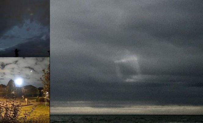 Странные огни в небе над Вирджинией