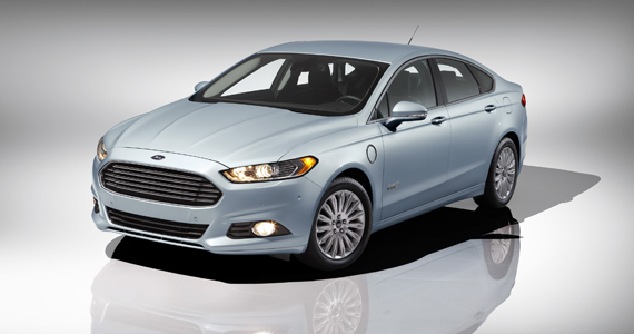 Ford Fusion Energi Plugin Hybrid Electric Vehicle. Credit: Ford