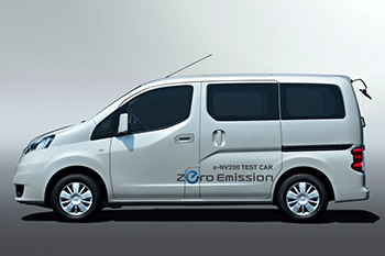 Nissan e-NV200 TEST CAR