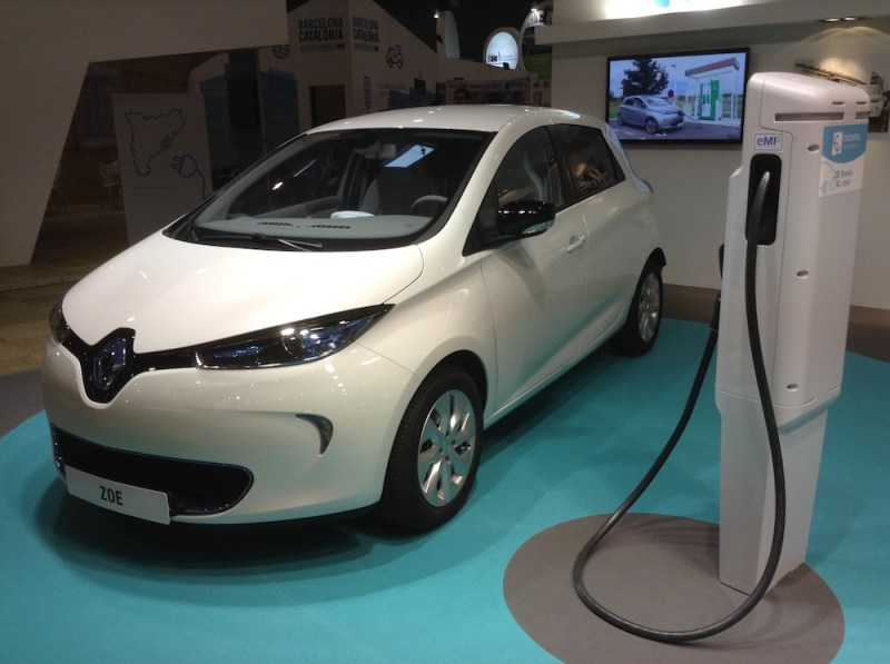 renault zoe charger