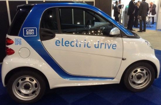 smart electric drive car2go