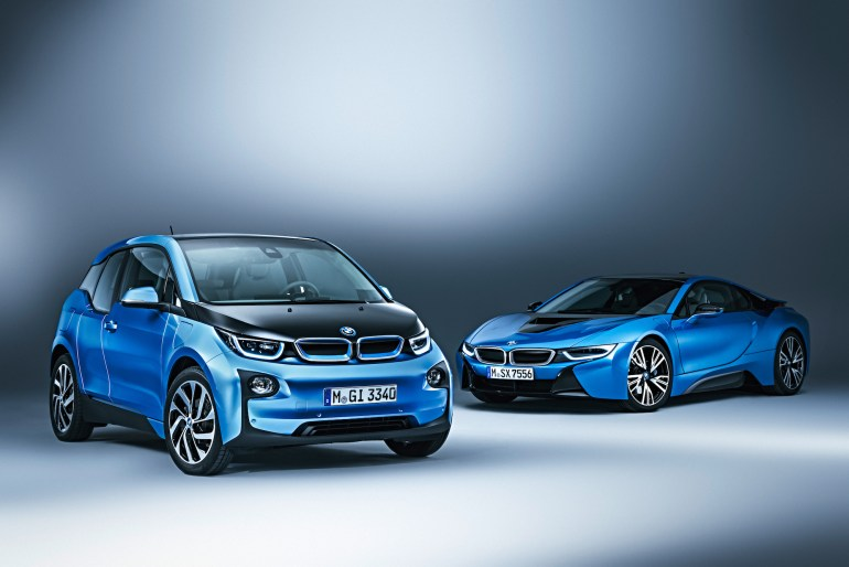 BMW i3 protonic blue 8