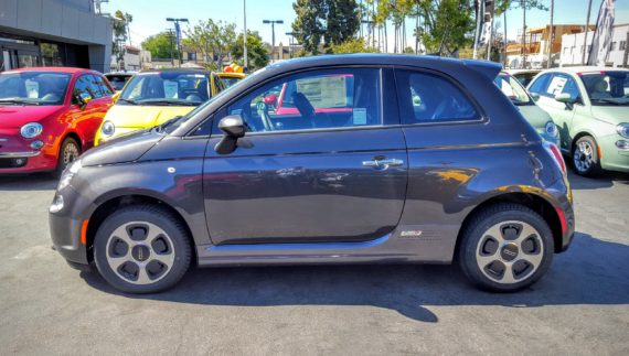 Fiat 500e grey 2 enhanced