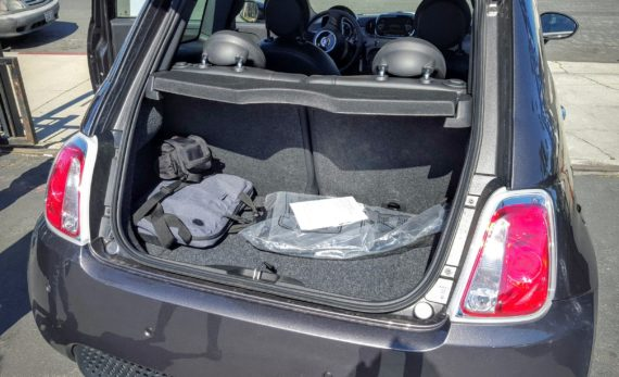 Fiat 500e trunk 3 enhanced