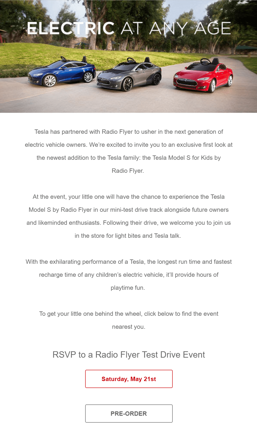 Radio-Flyer-Tesla-for-Kids-Test-Drive-Invite
