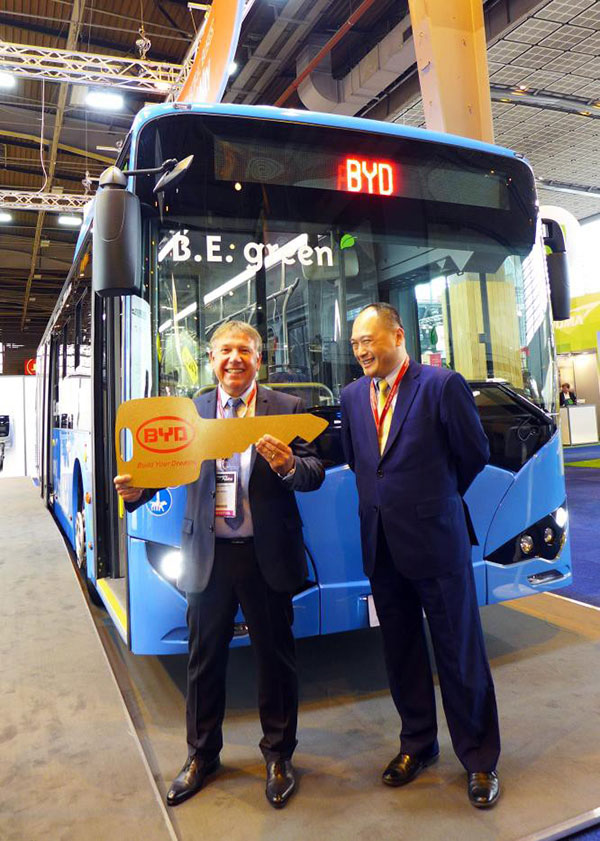 BYD electric bus 1