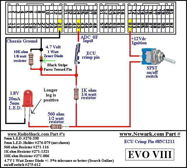 ADC evo8 harness?resize=640%2C573 4g63 ecu wiring diagram the best wiring diagram 2017 ECM Motor Wiring at gsmx.co