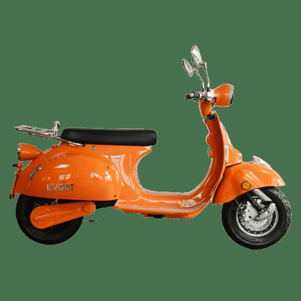 elmoped, orange