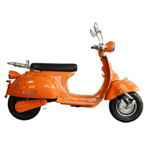 elmoped, orange