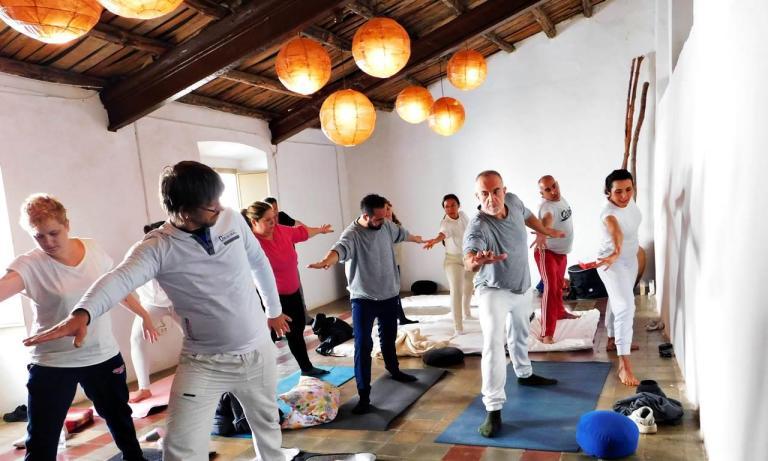 Empezar 2019 practicando Hatha Yoga en la Sierra de Aracena