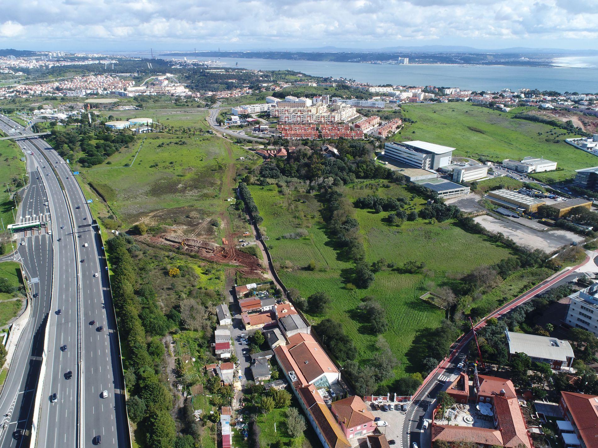 Vista aérea Quinta do Torneiro