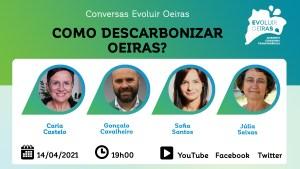 cartaz conversas descarbonizar Oeiras