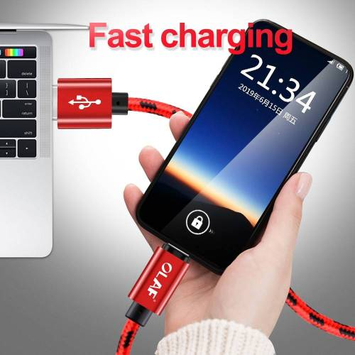Type C Fast Charging USB Data Cord For Samsung & Android Phones USB Phone Cables cb5feb1b7314637725a2e7: Black|Gold|gray|Red|Rose Gold|Silver